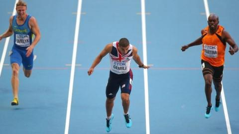 Adam Gemili breaks 20-second barrier in 200m at World Championships