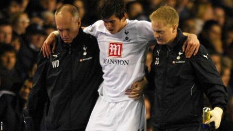 Gareth Bale injured