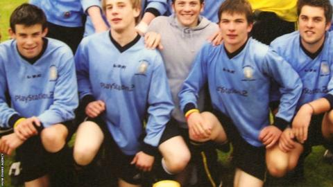 Gareth Bale youth team