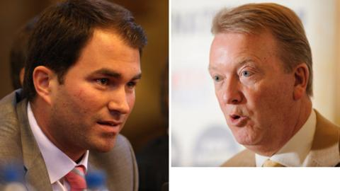 Eddie Hearn and Frank Warren