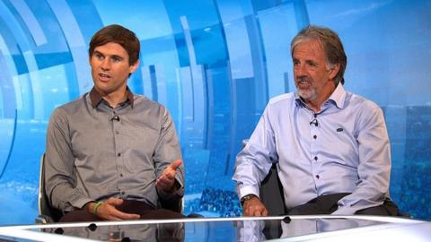 Kevin Kilbane and Mark Lawrenson
