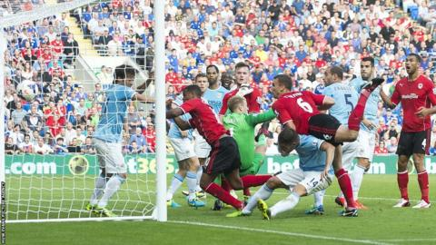 Fraizer Campbell scores for Cardiff