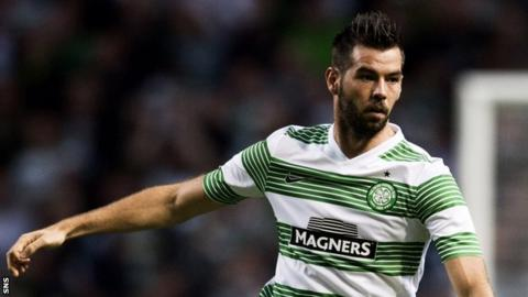 Celtic midfielder Joe Ledley