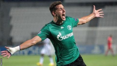 Schalke forward Adam Szalai