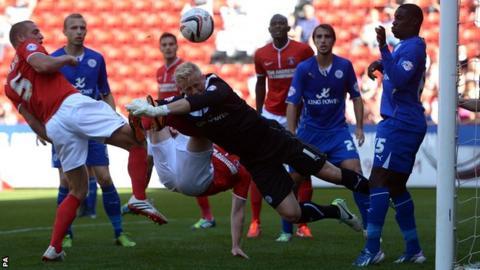 Charlton v Leicester