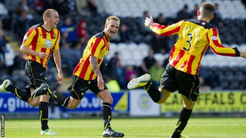 Partick Thistle came from behind to win in Paisley