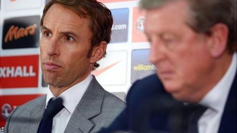 Gareth Southgate and Roy Hodgson
