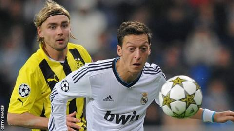 Mesut Ozil Real Madrid