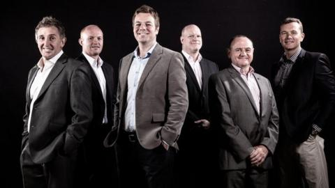 The Scrum V team