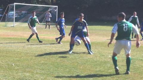 Trinity vs St Clement 2013