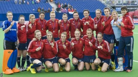 England won silver at the EuroHockey Championships