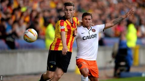 Partick Thistle v Dundee United