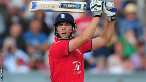 Alex Hales - world's top Twenty20 batsman dropped by Notts - BBC Sport