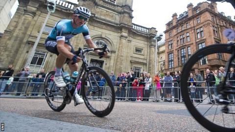Scottish cyclist Andy Fenn