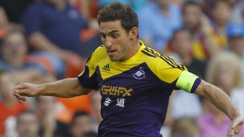 Angel Rangel leads Swansea at Valencia