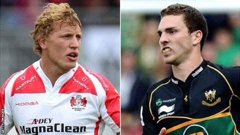 Billy Twelvetrees & George North