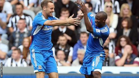 Sone Aluko and David Meyler