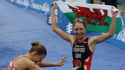 World Triathlon Champion Non Stanford