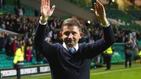 Morton manager Allan Moore