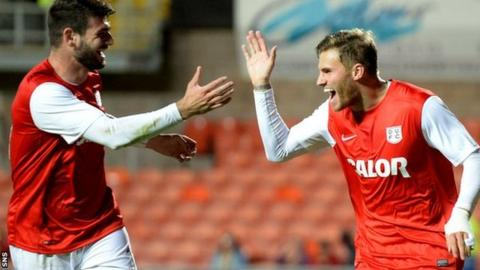 Dundee Utd 4-1 Partick Thistle