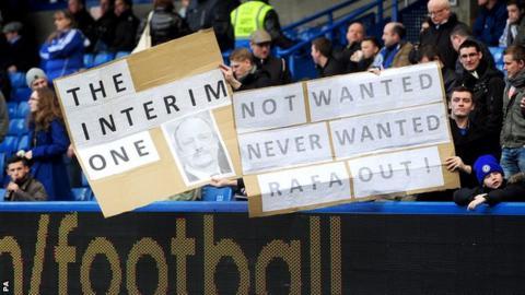 Benitez at Chelsea