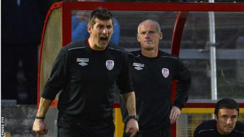 Declan Devine and Paul Hegarty