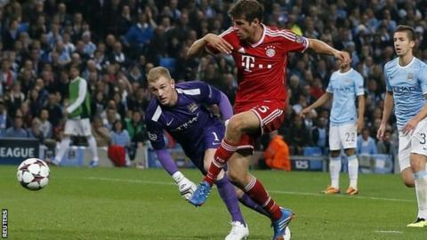 Thomas Muller scores