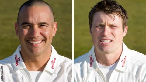 Gareth Breese and Gordon Muchall