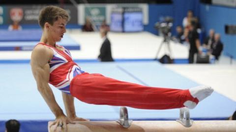 Britain's Max Whitlock wins silver