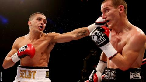 Welshman Lee Selby successfully defends his British and Commonwealth titles with a win over Ryan Walsh.