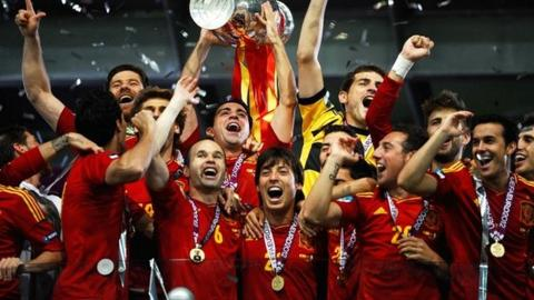 Spain win Euro 2012