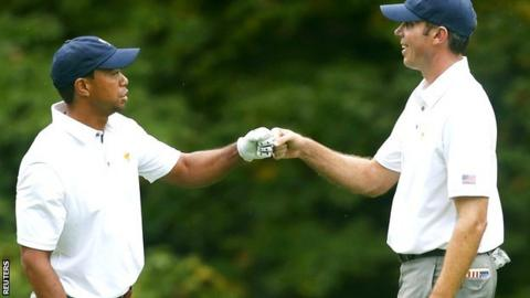 Tiger Woods & Matt Kuchar