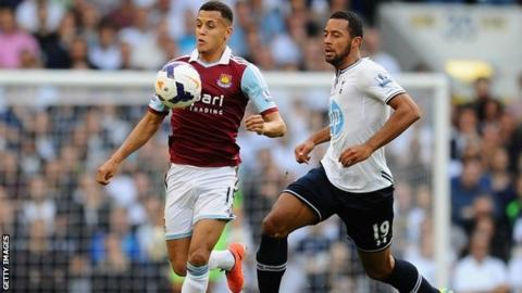 Ravel Morrison and Mousa Dembele