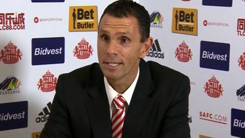 Gus Poyet, Sunderland Head Coach