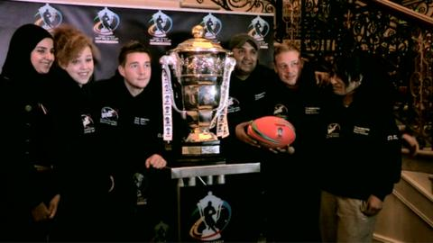 Rugby League World Cup trophy