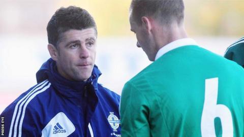 NI Under-21 manager Stephen Robinson