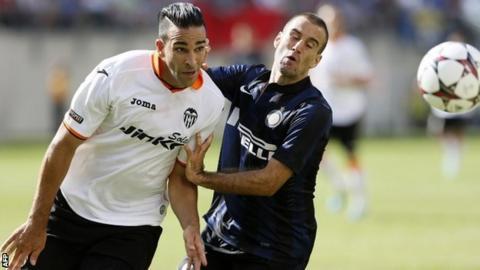 Valencia's Adil Rami