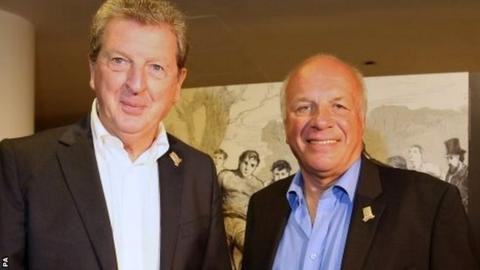 Roy Hodgson and Greg Dyke