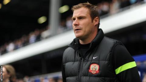 Barnsley manager David Flitcroft
