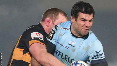 Mike Phillips in action for Bayonne