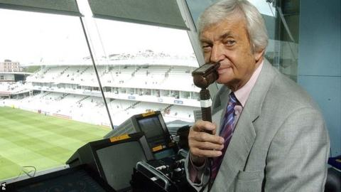 Commentary legend Richie Benaud