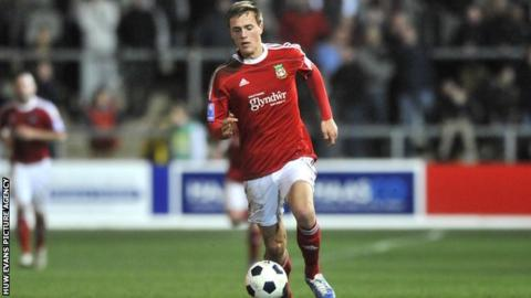 Wrexham forward Rob Ogleby