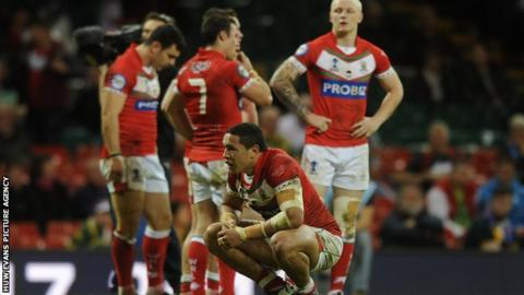 Wales rugby league side beaten by Italy