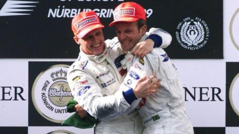 Johnny Herbert Rubens Barrichello