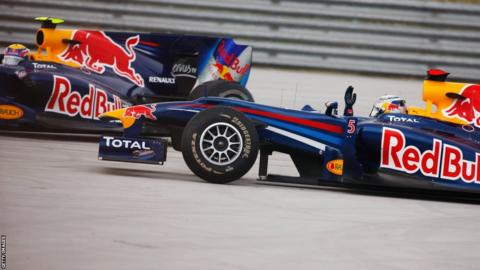 Mark Webber and Sebastian Vettel at the 2010 Turkish Grand Prix