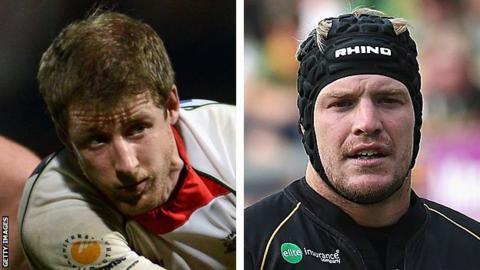 Ruairi Cushion and Rhys Oakley