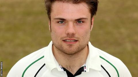 Worcestershire all-rounder Joe Leach