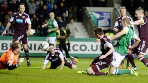 Highlights - Hibernian 0-1 Hearts
