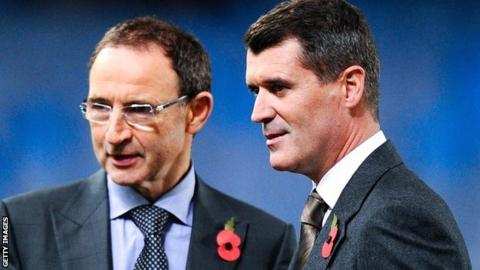 Martin O'Neill & Roy Keane