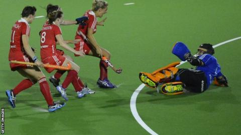 England women's hockey team